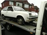 Vauxhall chevette barn find