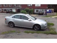 honda accord 5 speed auto saloon in silver
