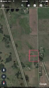 2 - 10 acre lots 4 miles from City only 1/2  of Hwy 11 S