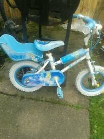 Blue cinderella bike