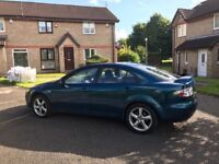 2005 Mazda 6 ,,,, long mot ,,,. Lovely big car ,,, £650