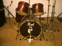 Pearl Export EX drum kit. ( shell kit )
