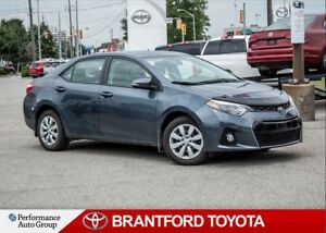 2015 Toyota Corolla S, 22800 KM's!, Off Lease, Back Up Camera
