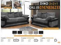 Dino 3+2 ad corner sofa f