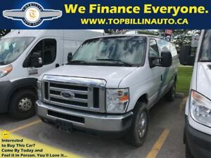 2009 Ford E-250 Commercial Cargo Van with Roof Rack, 190K