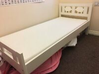 IKEA Kriter - kids bed and mattress - only 5months old. Condition as new, selling as moving house