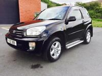 JULY 2003 TOYOTA RAV4 NRG 2.0 VVTI 4x4 JUST SERVICED LONG MOT EXCELLENT CONDITION