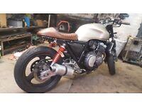 Honda CB400 (project big one ) cafe racer