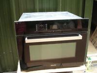 Miele combination microwave H5040BM & Miele warming drawer EGW4060-14