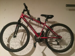 "Boys Bicycle - 24"" Red Huffy Granite"