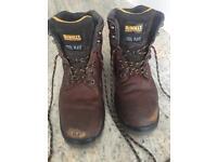 De Walt titanium work boots