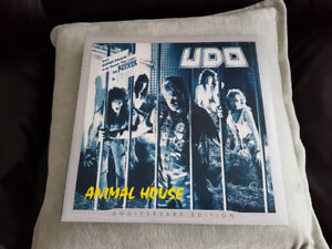 UDO ANIMAL HOUSE DOUBLE COLORED GATEFOLD VINYL ! BRAND NEW !