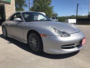 1999 Porsche Carrera 4 cabrio Low kms
