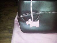Brown Radley hand bag with pink lining, dog and dust bag. Cost £70 sell £30. Used once in ex cond