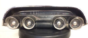 1964 Mercury Marauder or Montclair Dash Gauge package