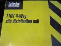 4-Way Electrical Distribution Unit. 110V (SPIDER BALL) £20 Only