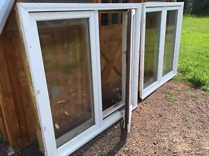 Casement Windows (left and right pair)