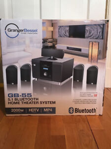 Granger Bessel GB-55 5.1 Bluetooth Home Theater System - photo 1