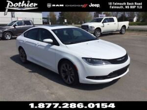 2016 Chrysler 200 S | | FWD | LEATHER | SUNROOF | HEATED SEATS |