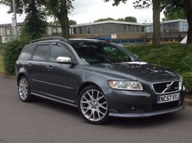 2008 VOLVO V50 AUTOMATIC ESTATE D5 R DESIGN AUTOMATIC 2.4 DIESEL