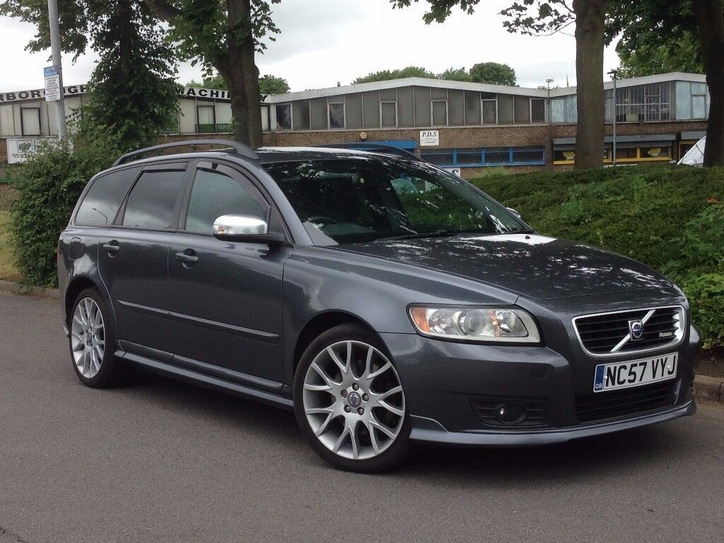 2008 volvo v50 automatic estate d5 r design automatic 2 4 diesel in peterborough. Black Bedroom Furniture Sets. Home Design Ideas
