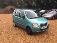 2002 Suzuki Wagon R+ 1.3 GL 1 Lady Owner 7 Months MOT Low Milage F.S.H. 2 Keys Cheap Car
