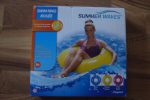 New, Summer Waves swim ring