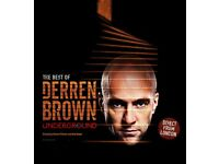 Derren Brown: Underground @ Mayflower Southampton (2x Tickets for Monday the 4th of September)