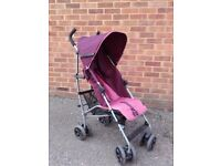Mamas and Papas Pushchair Pram RAINCOVER Foldable Lightweight Stroller Buggy push chair