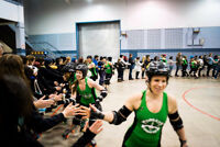 Summer is here......summer means all the ROLLER DERBY!