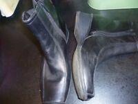 Clarks ladies boots size 4