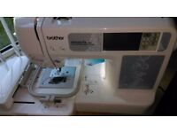 Brother Innovis 90E embroidery machine + extra accessories