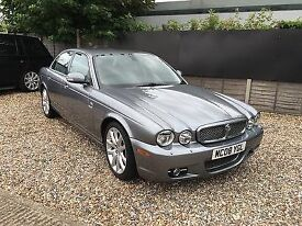 High Spec Jaguar XJ Sovereign, beautiful inside and out. Rare gunmetal with black leather interior