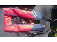 2 Childrens self inflate life jackets