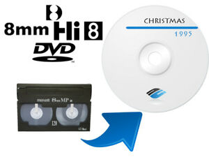 Service for converting all 8 mm camcorder videotapes to DVD