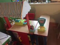 Childs Shop / stall and accessories