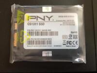 """PNY CS1311 240GB 2.5"""" Internal SATA SSD Drive"""