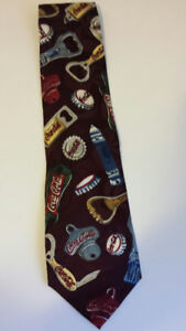 Coca-Cola Silk Necktie 1996 - NEW!