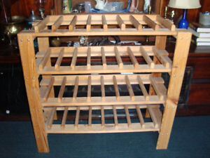 Wine rack for 32 bottles