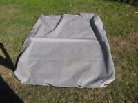 3ft. by 4ft. Trailer Cover, excellent condition, hardly used.