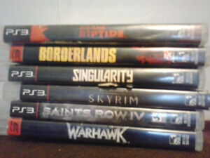 PS3 GAMES $120 FOR ALL OR $10 EACH