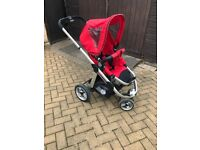 2 in 1 baby pushchair and a stroller