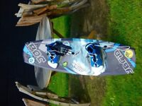 Blue JOBE Wakeboard and Gloves