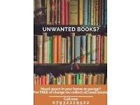 WE WILL COLLECT ALL OF YOUR UNWANTED BOOKS! (Hampshire)