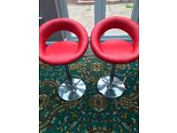 Bar stools nearly new never used