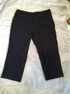 NORTHERN REFLECTIONS ACTIVE CROP PANTS - (NEW) - SIZE XL