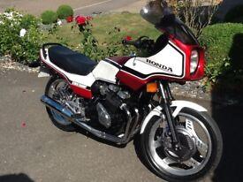 Honda CBX 550 F2. 1983 Super low mileage, 'Show Stopper' condition. £2750