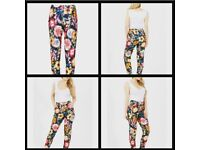 5x floral trousers