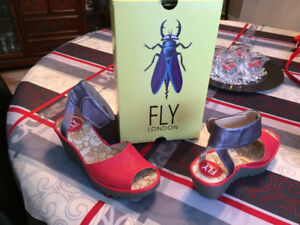 Fly London Sandals - Brand New in Box