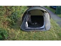 Quechua 2 man pop-up-tent